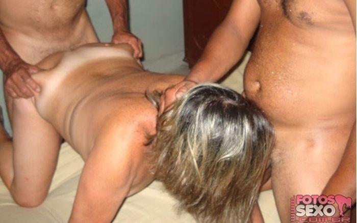 Fotos de putaria e sexo com esposa puta