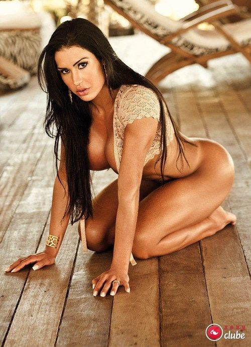 Fotos da sexy com a peituda morena Gracieane Barbosa